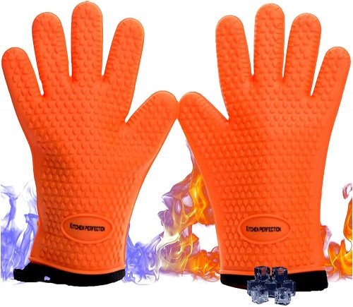 No.1 Set of Silicone Smoker Oven Gloves
