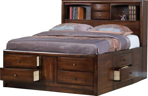 Bed Frame with Drawers