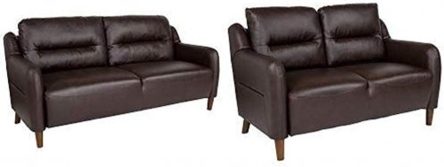 Flash Furniture Newton Hill Loveseat and Sofa Set