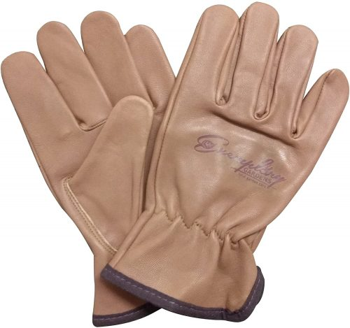 Heavy Duty Goatskin Leather Work Gloves