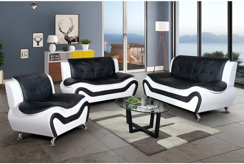 AYCP FURNITURE White Sofa Set