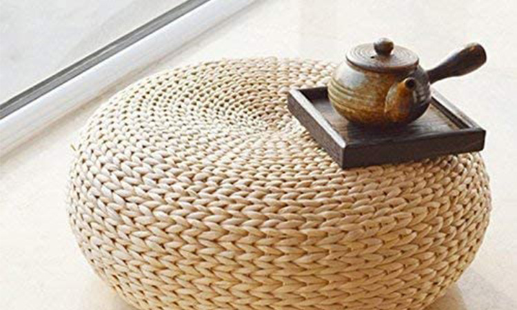 HUAWELL | Your Right Round Pouf