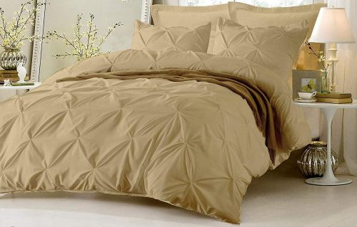 Kotton Culture Pinch Pleated Duvet Cover - Bed Duvet Covers