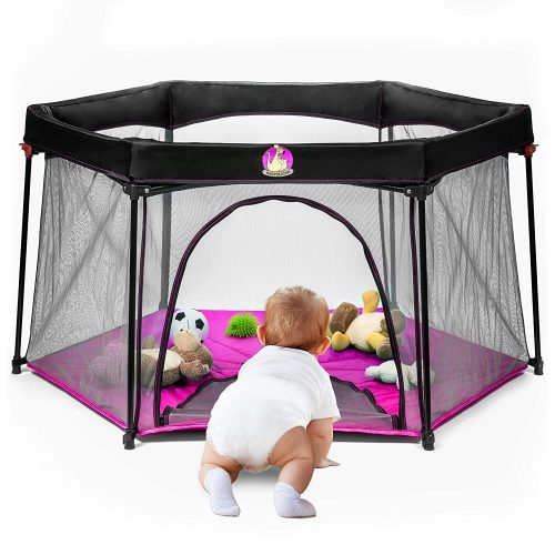 Why should you have a playard set up for your kids?