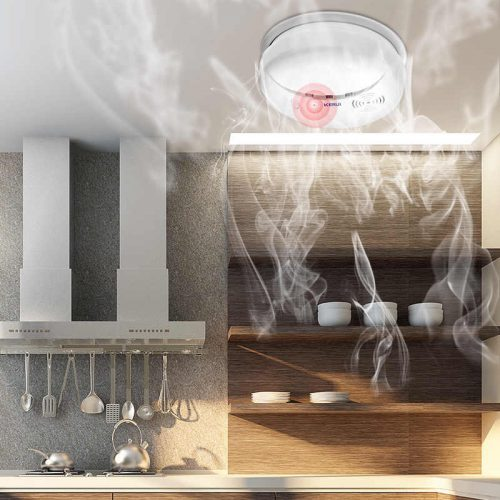What are smoke detectors, and how do they work?