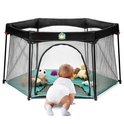 Portable Playard for Infants and Babies