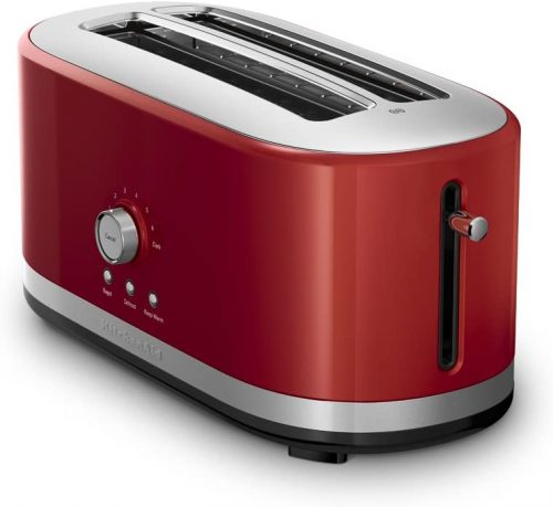 KitchenAid KMT4116CU 4-Slice Long Slot Toaster with High-Lift Lever