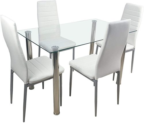 MAG.AL Glass Dining Table