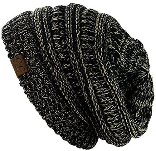 C.C Trendy Stretch Cable Knit Beanie Skully - Beanie Hats for Women