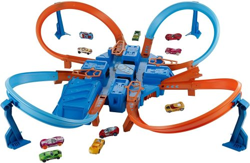 Hot Wheels Crash Motorised Track Set