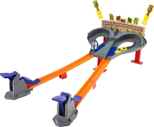 Hot Wheels Super Speed Blastway Dual Track Playset