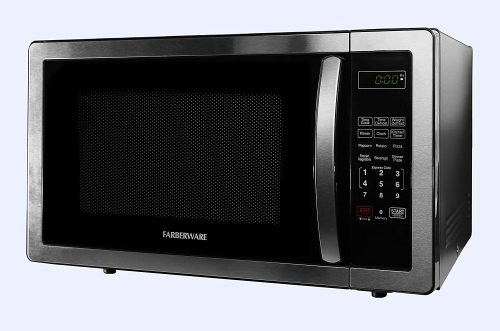 Farberware 1.1 Cu. Ft. Stainless Steel Microwave Oven