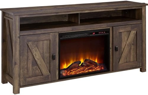 Ameriwood Home Farmington Fireplace TV Stand