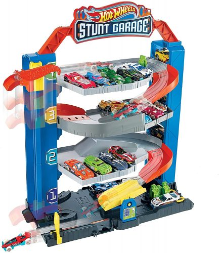 Hot Wheel City Stunt Garage Playset