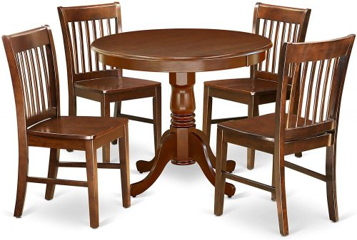 East West Rounded Table - Best Dining Table Sets