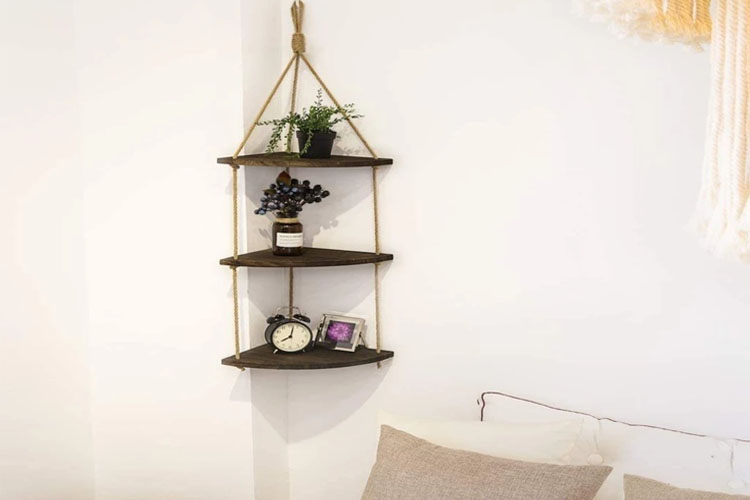 Best Hanging Corner Shelves in 2021 | Perfect Installation
