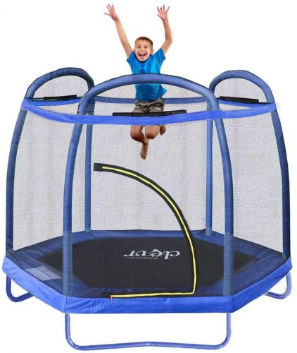 CLEV R 7 ft SMALL KIDS' TRAMPOLINE