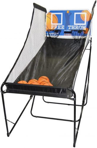 Carrom Free Throw Duel Electronic Basketball