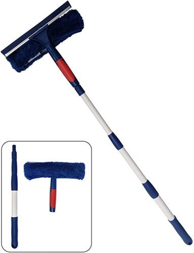 Pomatree Window Cleaner Squeegee with Extension Pole